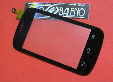 Kit VETRO+ TOUCH SCREEN PER ALCATEL ONE TOUCH POP C1 4015 4015D DISPLAY NERO