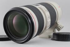 【NEAR MINT++】 CANON EF 70-200mm F4 L IS USM Telephoto Zoom Lens from JAPAN #y861