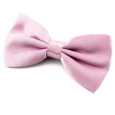 NOEUD PAPILLON Rose pour Homme ou Femme en Satin - Pink Men or women Bowtie