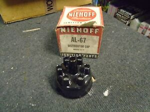 NIEHOFF DISTRIBUTOR CAP AL-67 FITS JEEP/PLYMOUTH 6 CYL MODELS! NEW RARE ITEM!