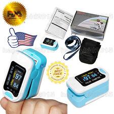 USA On Sale!Fingertip Pulse Oximeter,SPO2 Monitor Blood Oxygen CMS50NA NEW