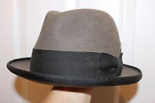 Vintage Fedora - Bobby Lee Genuine Fur Felt - Size 7 1/8
