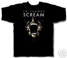 IN FLAMES ~ SCREAM S/S T-SHIRT ~ XL