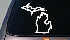 "MICHIGAN state 6"" sticker decal car truck window college football basketball"