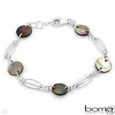 BOMA Genuine Mother Of Pearl 925 Sterling Silver Bracelet -U$130