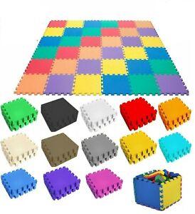 31cm Baby Crawling Puzzle Mat Soft EVA Foam Kids Play Carpet Home Floor Blanket