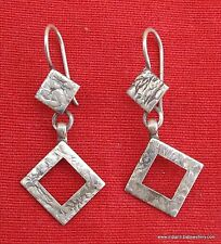 Traditional Design Sterling Silver Earring Pair India