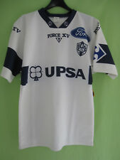 Maillot Rugby Force XV Sporting union Agen SUA UPSA Ford Vintage Blanc - L