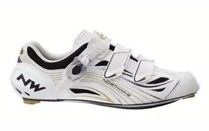 NORTHWAVE TYPHOON EVO SBS CARBON Road Cycling Shoes White Size 38