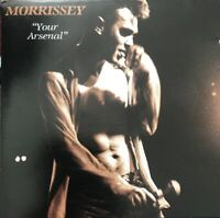 MORRISSEY YOUR ARSENAL CD SIRE USA 1992 RARE CLUB PRESSING NO BARCODE