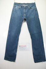 Levi's 501 Boyfriend (Cod. Y1511) Tg.47 W33 L34 jeans Vita Alta usato vintage