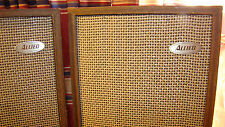 Vintage Allied Radio Corp 3001 Pair Of Used Speakers Pair # 1