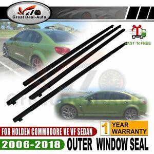 Outer Door Weather Window Rubber Seal for Holden commodore VE VF SEDAN V6 V8