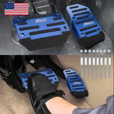 Blue Car Non Slip Automatic Gas Brake Foot Pedal Pad Cover Accessories Universal Fits 2005 Kia Amanti