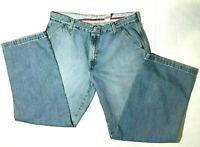 Vintage 90s Levis Straight Leg Blue Denim Jeans Womens 16 Mis  Small E