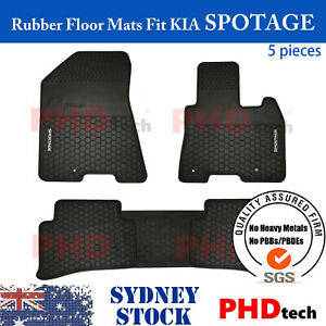 Premium Quality All Weather Rubber Car Floor Mats Fit KIA SPORTAGE Oct2015~Nowon