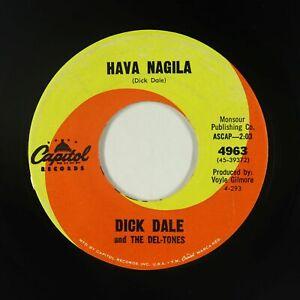 Surf 45 - Dick Dale & the Del-Tones - Hava Nagila - Capitol - mp3