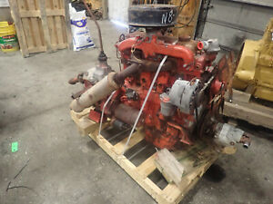 Perkins 4-236 Diesel Engine TRUCK TAKEOUT! W/ T98 Transmission 4.236 LD