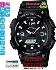 CASIO WATCH TOUGH SOLAR AQ-S810W-1AV AQS810 AQS810W 12-MONTH WARANTY