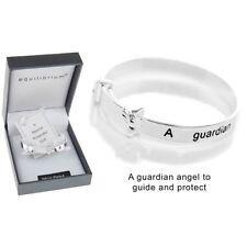 bracelet Equilibrium Silver Plate Christening guardian angel Bangle gift baby