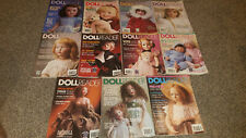 11 Vintage 1997-98 DOLL READER Collector's Guide To Dolls & Miniatures Magazines