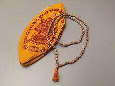 JAPA MALA BAG WITH TULSI MALA HINDU CHANT YOGA MEDITATION HARE RAMA ISKCON SET