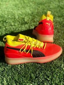 Mens Puma Clyde Court Red Blast 19171502 Athletic Basketball Sneaker Shoes 11.5