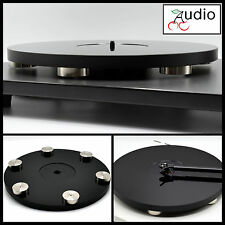 Gloss Black Acrylic Turntable Platter. Fits REGA