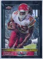 JAMAAL CHARLES = 2015 Chrome Topps BLACK REFRACTOR /299 - Chiefs