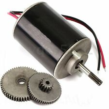 36W Small Wind Turbine Generators DC 12V-24V Permanent Magnet Motor W/ 2pcs Gear