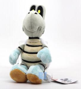 "GENUINE Super Mario Bros Dry Bones Stuffed Plush 8"" All Star Little Buddy 1598"