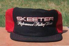 Skeeter Cap Vintage SKEETER Performance Fishing Boats Mesh Cap~New Old Stock