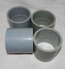 """Carlon 2 1/2"""" Coupling Slip Joint PVC Fittings Electrical Gray Conduit 4ea 6J"""