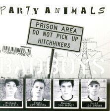 PARTY ANIMALS - Bad boys / Animal song 5TR CDS 2006 HAPPY HARDCORE / GABBER