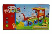 BUMP & GO TRAIN WITH FLASHING LIGHTS AND MUSIC SOUND TODDLER TOYS