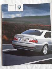 BMW 3 Series Coupe brochure 2004 ed 2 full brochure