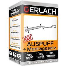Auspuff Opel Astra G H 1.6 1.8 Astra H GTC 1.8 16V Mittelschalldämpfer *2183