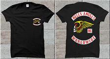 New Sale Hells Angels Big 81 Red Machine World support GILDAN T-Shirt%  123
