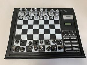 Saitek Mephisto Talking Chess Trainer CT04 Level 3 Electronic Computer Game