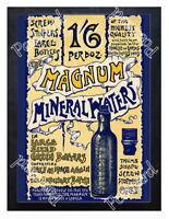 Historic Magnum Mineral Waters, c.1900 Advertising Postcard