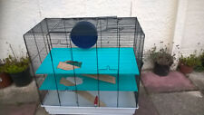 hamster cage and accessories, collection Hampton middx