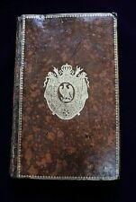 Napoleon Bonaparte Personal Owned Book From His Library Royal Cipher Not Signed