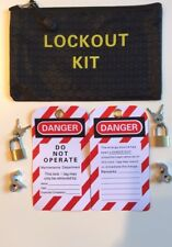 MCB RCD Lockout / Lock Off Kit For Consumer Unit.
