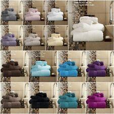 Egyptian Cotton Luxury Miami Towels 700GSM Hand Bath Towels Bath Sheets Bale Set