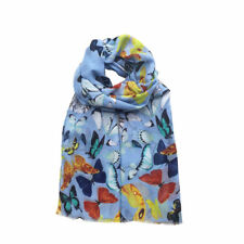 New In  Ladies Women  Butterfly Print Large Scarf Pashmina Snood Cowl