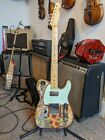 Custom T-style Electric Guitar 2021 Mushroom Design for sale