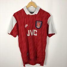 Vintage Arsenal 1995 1996 Home football shirt soccer jersey rare Nike JVC size S