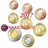 Série 1 Cent à 2 Euro BU Malte 2017 avec Poinçon F - Série Brillant Universel