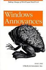 nutshell Handbooks: Windows Annoyances by David A. Karp (1997, Paperback)