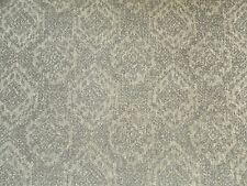 Sanderson Curtain / Upholstery Fabric SAVARY 0.85m Smoke - Textured Damask Weave